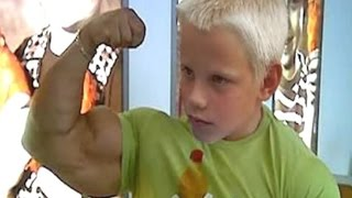 Top 5 Strongest Kids in the World