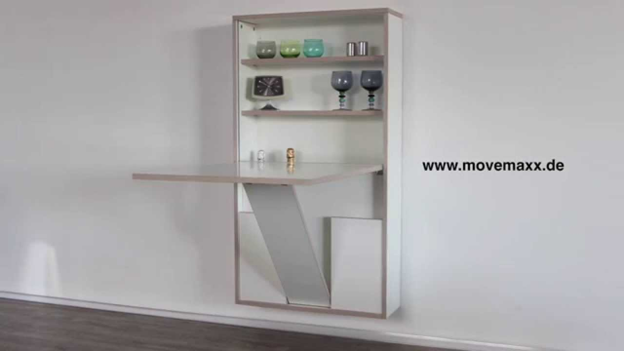 wandklapptisch movemaxx youtube. Black Bedroom Furniture Sets. Home Design Ideas