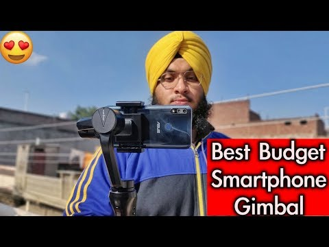 Best Budget 3 Axis Smartphone Gimbal for ₹5,600 : The Best 😍🔥