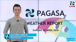 Public Weather Forecast Issued at 4:00 PM April 7, 2019