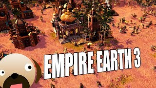 MIDDLE EAST VS THE WEST! ADVANCE FROM ANCIENT TO FUTURE - Empire Earth 3 Gameplay