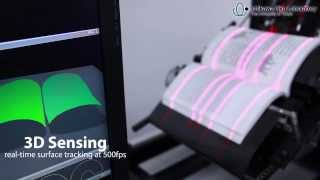 BFS-Auto: High Speed Book Scanner at over 250 pages/min Video