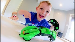 Father & Son GET CRAZY RC SNAKE CAR!