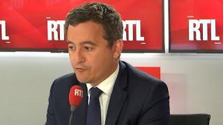 Gérald Darmanin était l'invité de RTL