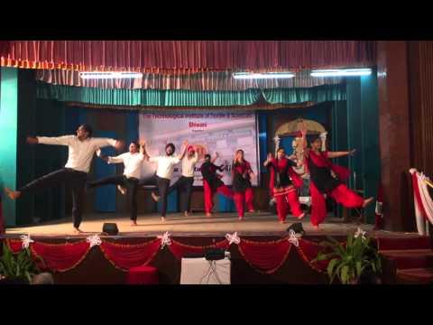 Sher-e-punjab performing on MAHA KUTUMBH MILAP 2016 in TIT    best bhangra  