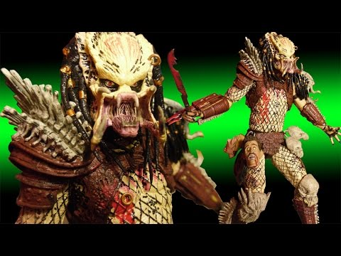 NECA Bad Blood Predator Deluxe Action Figure Review