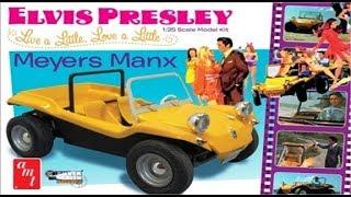 AMT 847 Elvis Presley Meyers Manx model kit