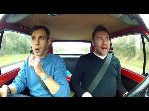 SMITH & SNIFF - First time driving a Fiat 126