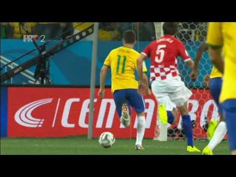 Brazil - Hrvatska 3:1 Mekciko - Kamerun 1:0 SP 2014. golovi