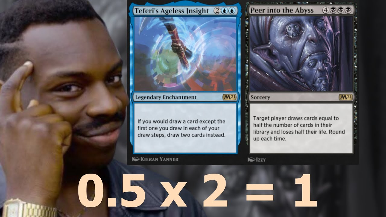 DOUBLE PEERING! SOUNDS NASTY AND IT IS! Ageless Insight Peer into the Abyss Standard MTG Arena