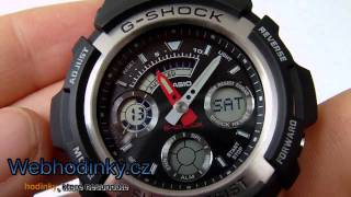 pnsk hodinky casio aw 590 1a g shock