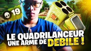 LE QUADRILANCEUR = UNE ARME DE DEBILE !  19 KILLS DUO - KINSTAAR GAMEPLAY