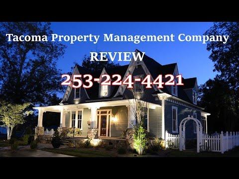 Tacoma Property Management  University Place WA 253-224-4421