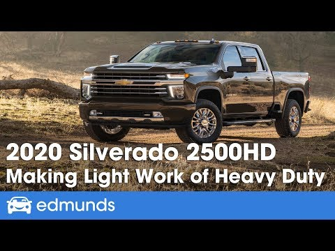 2020 Chevrolet Silverado HD: 2500HD and 3500HD Step Up Their Heavy-Duty Towing Game | Edmunds