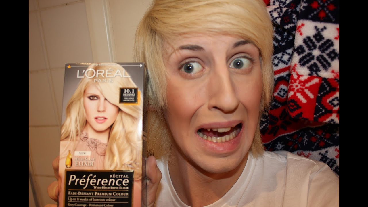 L Oreal Pairs Preferences Bleach Blonde To Natural Ash