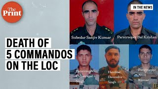 How a deadly hand-to-hand fight at the LoC led to the death of 5 commandos
