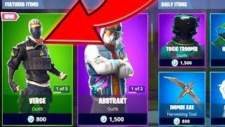 *NEW* FORTNITE DAILY ITEM SHOP UPDATE - JANUARY 15th - WTF IS VERGE - Fortnite Battle Royale
