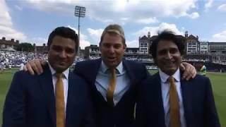 We're live at the innings break with Shane Warne, Sanjay Manjrekar and Ramiz Raja India vs pakistan