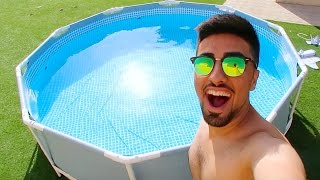 WE BOUGHT A SWIMMING POOL !!!