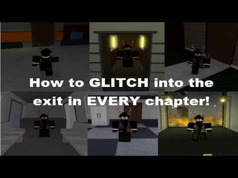 HOW TO GLITCH INTO THE EXIT IN EVERY CHAPTER IN ROBLOX PIGGY! [Roblox Piggy Glitches]
