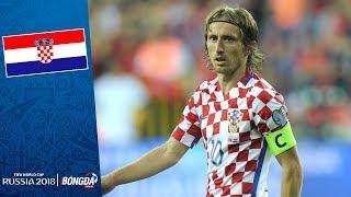 Đội hình ĐT Croatia tham dự World Cup 2018