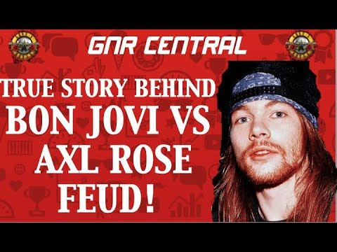Guns N' Roses: The True Story Behind The Axl Rose & Sebastian Bach Bon Jovi Feud%21