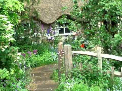 Rustic garden ideas youtube for Cottage garden plans designs