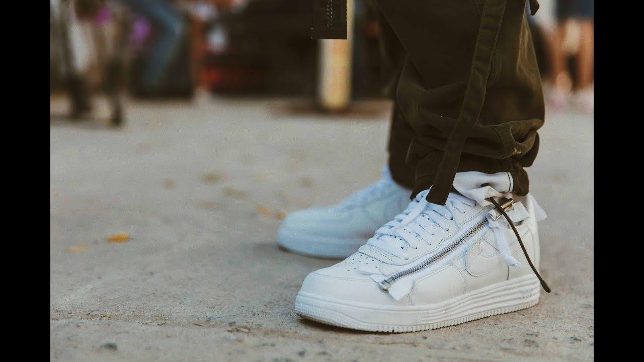 Nike Air Force 1 Triple White Acronym