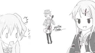 ハロー!!きんいろモザイク(Hello!! kin-iro mosaic)  My best friends/Rhodanthe*  Solo guitar