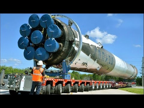 The Biggest Oversize Load Compilation. The Biggest Carriers And Trucks In The World!