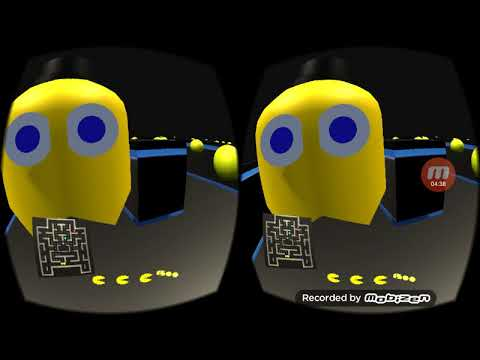 Virtual Reality Pacman Video 1