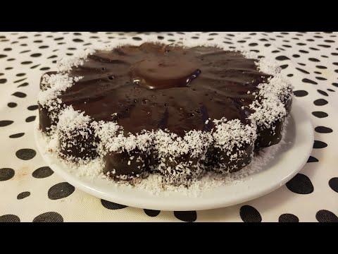 gâteau-moelleux-au-chocolat-(avec-yaourt-danette)-facile