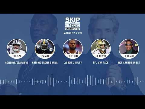 UNDISPUTED Audio Podcast (01.02.19) with Skip Bayless, Shannon Sharpe & Jenny Taft | UNDISPUTED
