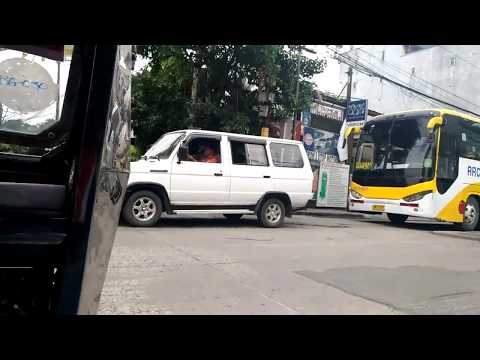 A Feel of a Tricycle Ride in the Philippines (San Juan City, NCR)