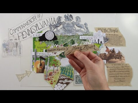 That Commonwealth of Old Pennsylvania - #50StatesAlbum - #Paperslide Music Video