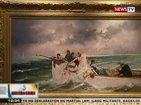 BT: Nawawalang painting ni Juan Luna, naibalik na sa Pilipinas