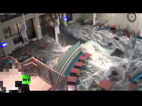 Flash flood rips through Nebraska hospital