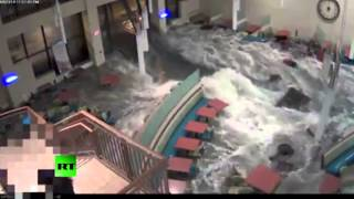 Flash flood rips through Nebraska hospital