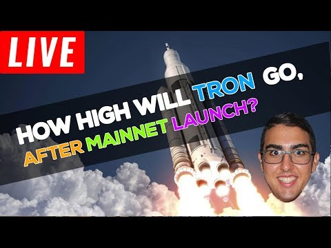 How High Will Tron (TRX) Go After Mainnet Launch?