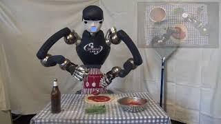 Maker Faire RoDyMan il robot pizzaiolo si trasforma in chirurgo - Corriere TV - 3 Dec 2017