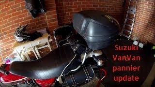 Suzuki VanVan pannier update
