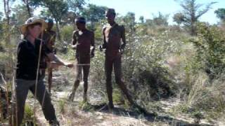 Learning from the Bushmen - Hunting veggies