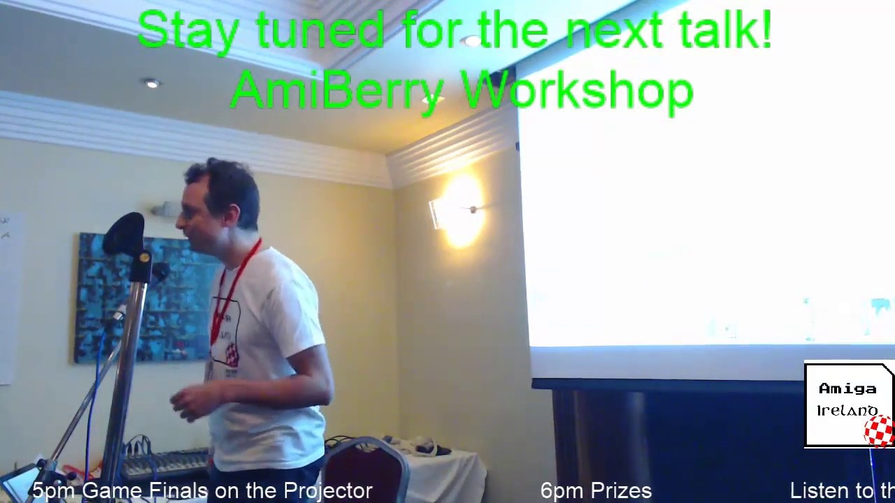 AmiBerry Workshop