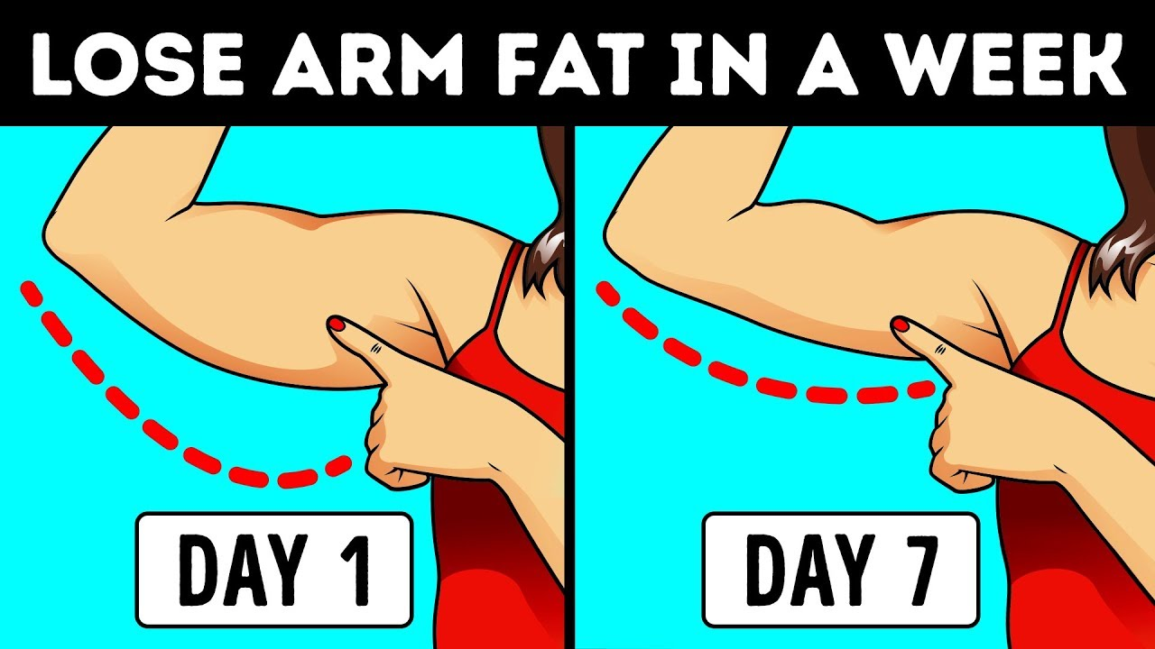How To Lose Arm Fat In 7 Days Slim Arms Fast Youtube