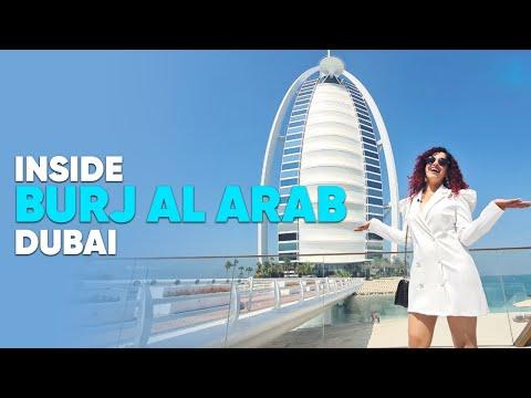 Burj al-Arab & Palm Jumeirah Dubai Tour 2020 4K
