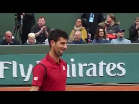 Djokovic Thiem French Open