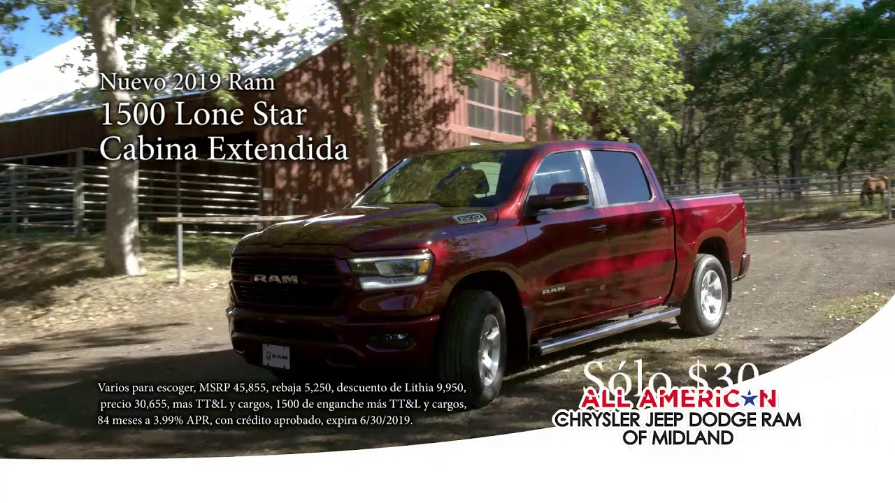All American Dodge Midland >> Bigger Things Sales Event At All American Chrysler Jeep