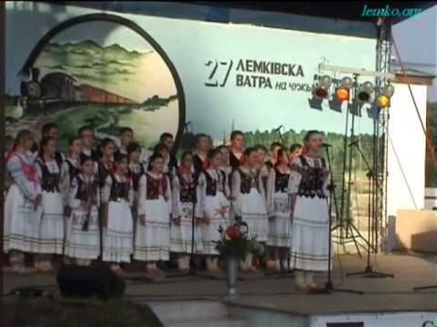 """Annual """"Lemko Vatra"""" in Mychałów, Ziemie Odzyskane, Poland (2007)"""