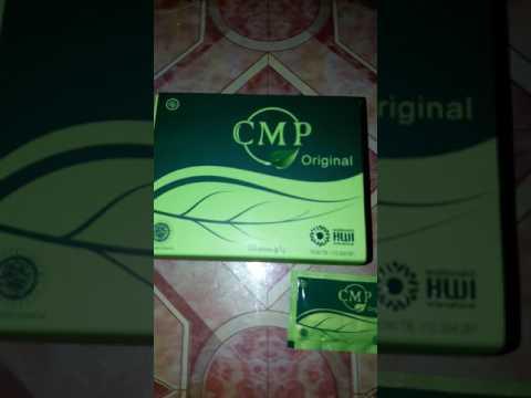 Cara minum CMP Chlorophyll Mint Powder dari HWI