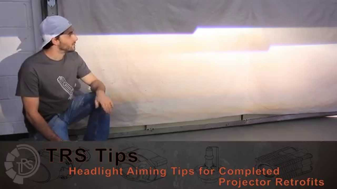 Car Led Headlights >> TRS Tips: How to Adjust Headlights for the Perfect Aim! - YouTube
